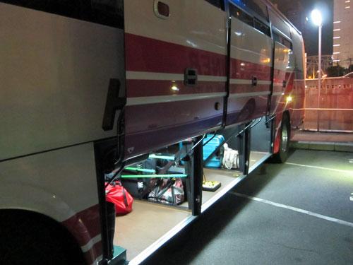 夜行バス 輪行 高速バス