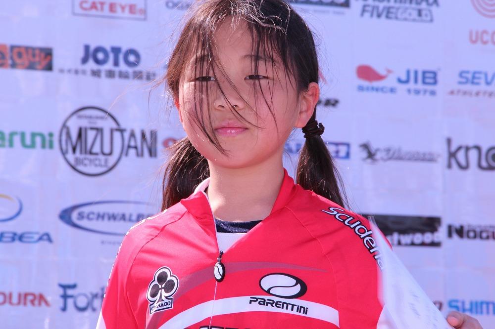 小学3~4年生の部 女子 ノーマル自転車 表彰式