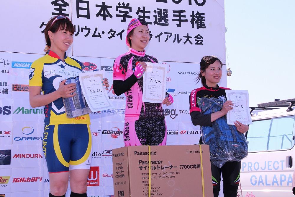 カテゴリー6 女子 表彰式