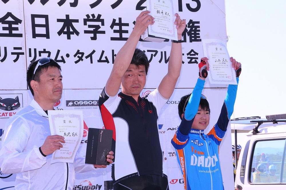 カテゴリー5 男子 表彰式