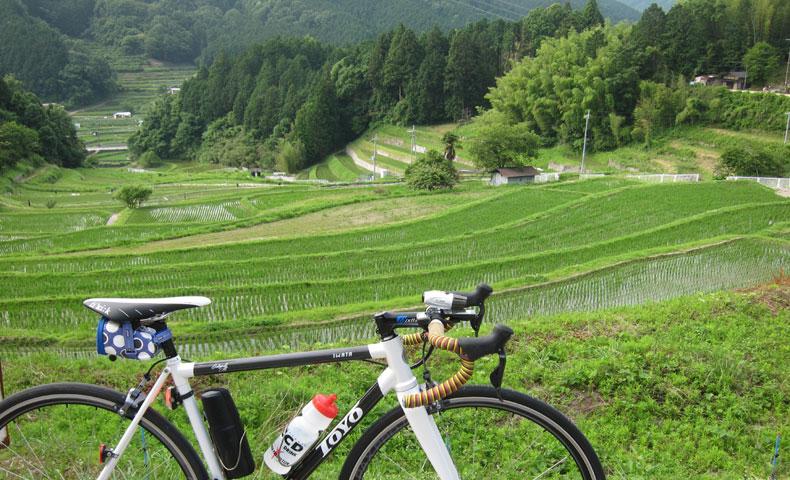棚田 サイクリング