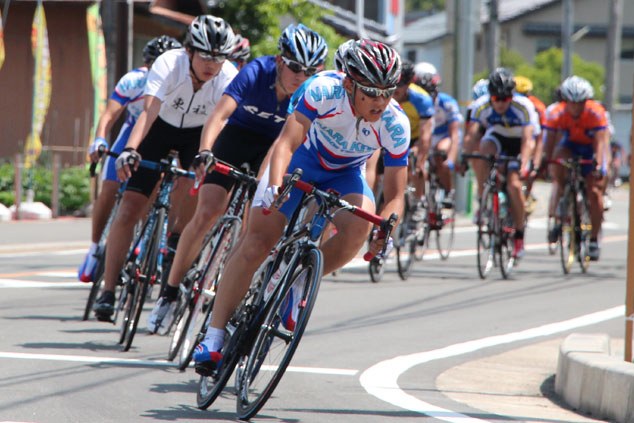 自転車のロードレースに出てみよう