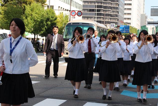 大阪市ではなんと初、ド派手な ...