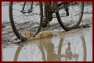 シクロクロス 泥