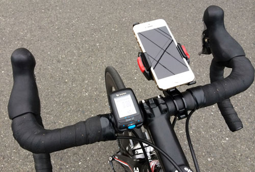 iPhone5sとライダー20のサイズ比較