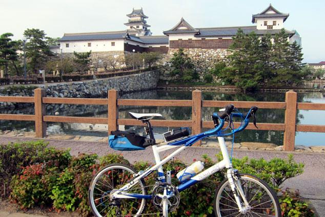 しまなみ海道 とびしま海道 サイクリングツアー 今治城