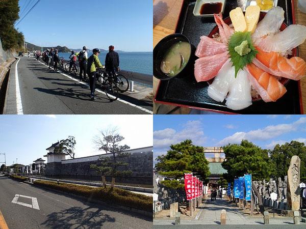 牡蠣 カキオコ サイクリングツアーズジャパン
