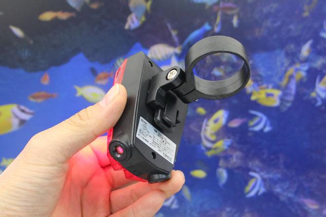 エルパ レーザー付シグナルライト(テールライト) DOP-SL400