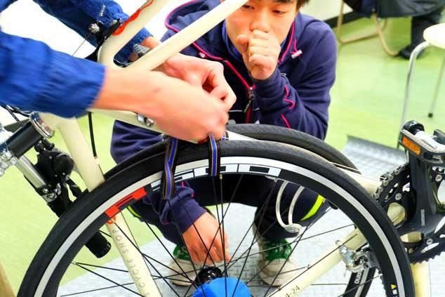 ワールドサイクルの輪行講座 輪行教室