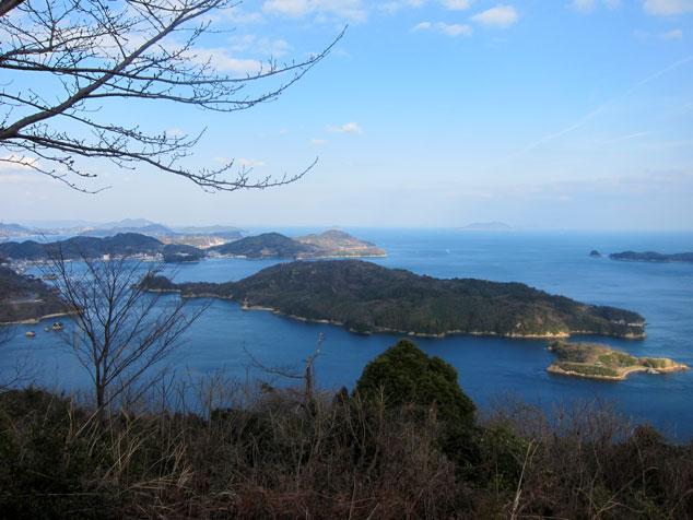 しまなみ海道 大島 カレイ展望台