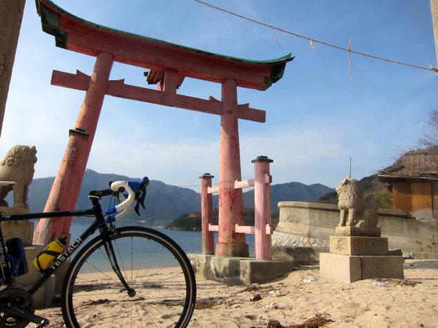 しまなみ海道 岩子島 厳島神社