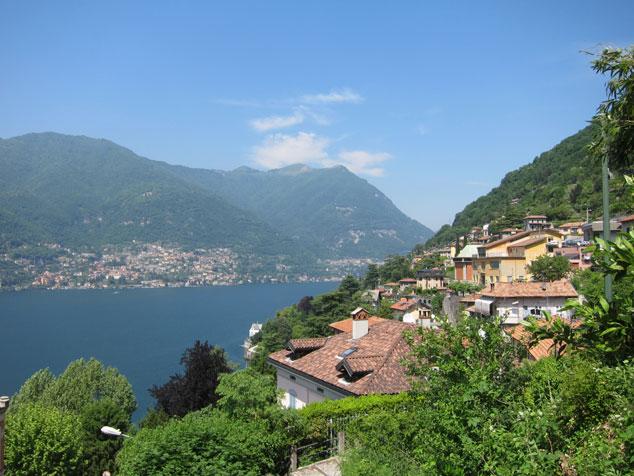 コモ湖 ジロ・デ・イタリア