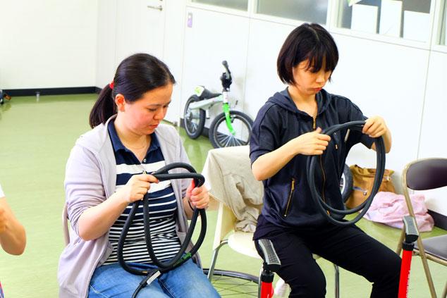 輪行マイスター岩田の、パンク修理&タイヤチューブ交換講座