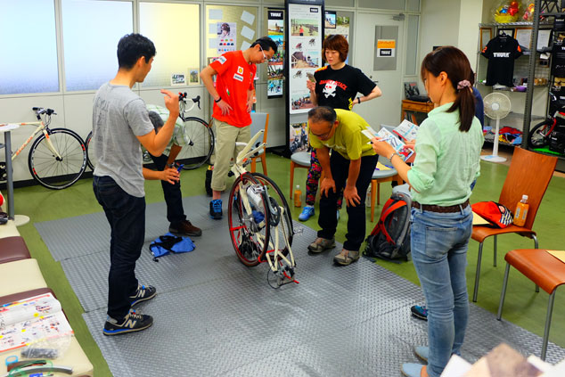 パーフェクト輪行講座 輪行教室 輪行袋