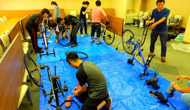 自転車の学校 輪行講座