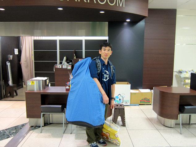 東京駅には自転車を入れられる ...