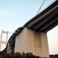 ド迫力の橋脚