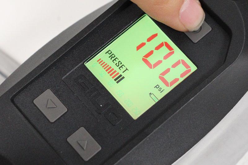 GIYO GF-14D LCD デジタルゲージフロアポンプ