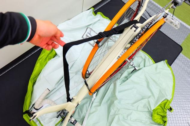 マルト ツアーバッグ ロード用 輪行袋 輪行講習