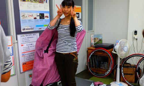 輪行講座 輪行教室 輪行袋