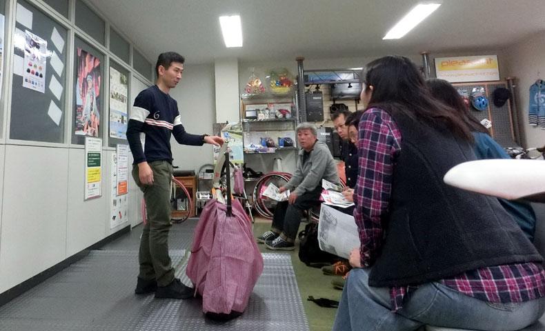輪行講座 輪行講習 輪行教室