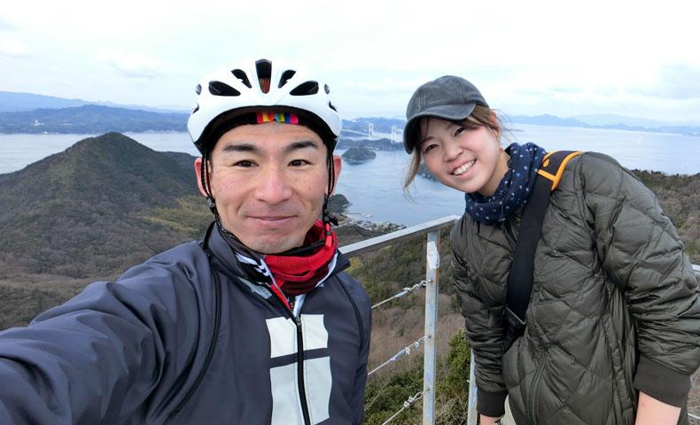 しまなみ海道 大島 亀老山