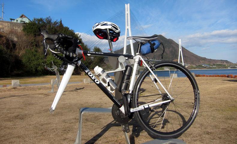 しまなみ海道 多々羅大橋 サイクリストの聖地
