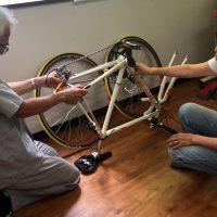 輪行講座 輪行教室 輪行講習 輪行袋
