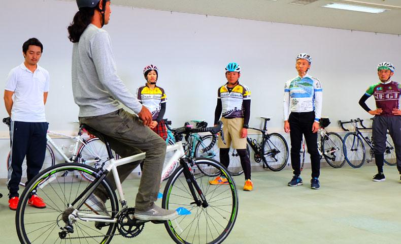 柳原康弘 ロードバイク基礎テクニック講座