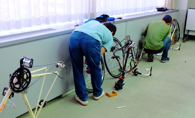 輪行講座 輪行マイスター 輪行講習 輪行教室