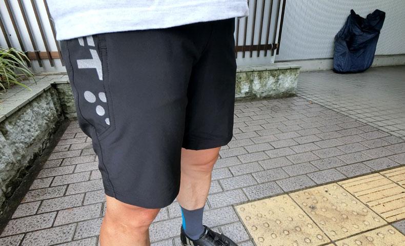 輪行ショートパンツ クラフト