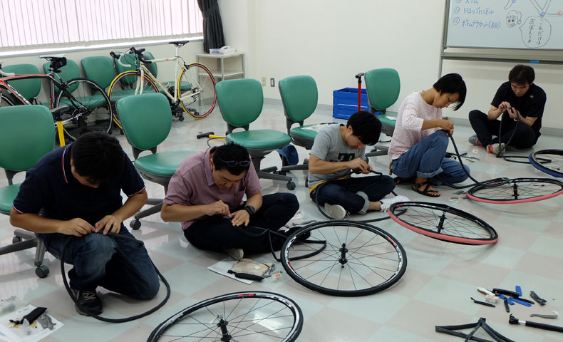 パンク修理&タイヤチューブ交換講座