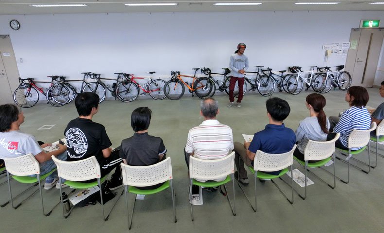 柳原康弘xワールドサイクル「ロードバイク向けの基礎テクニック講座」