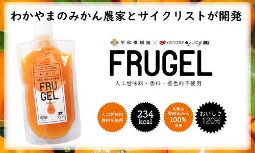 補給食「FRUGEL」フルジェル