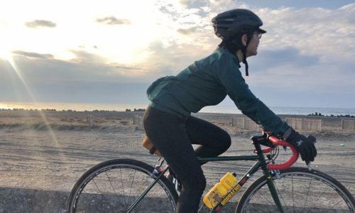 もんもん ロードバイク女子