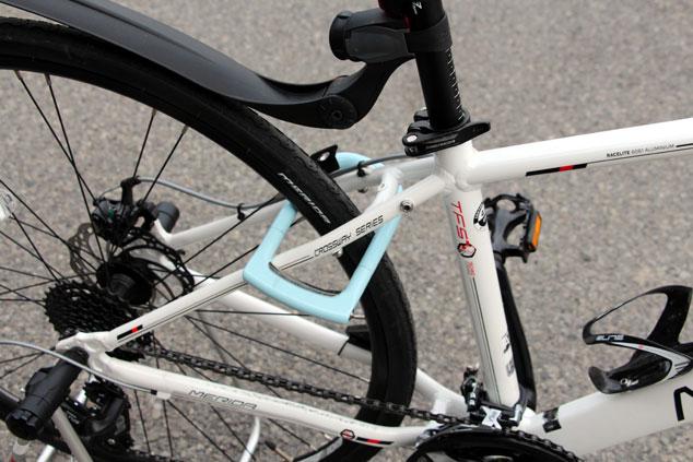 *盗まれてからでは遅すぎる、自転車の鍵のかけ方。
