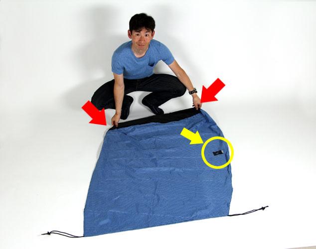 *パーフェクト輪行袋収納マニュアル これで輪行袋の畳み方は完璧