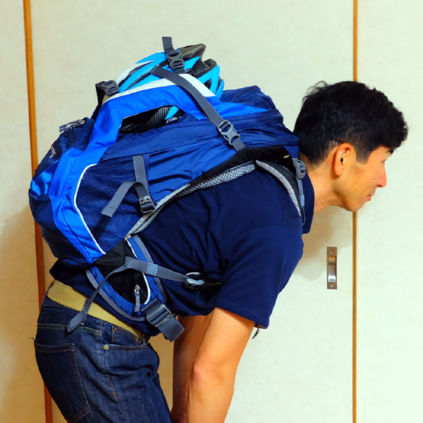*輪行するならバッグはドイターを選んでしまう理由はここにある。