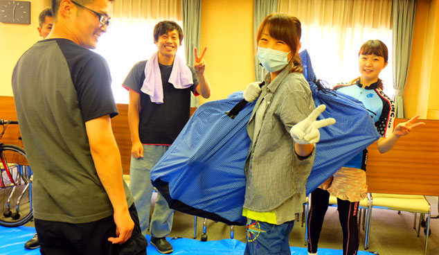 ワールドサイクルの「出張貸切輪行講座」、名古屋で開催しました。