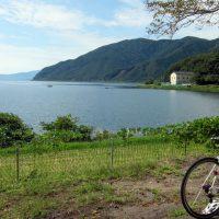 ビワイチ 奥琵琶湖パークウェイ