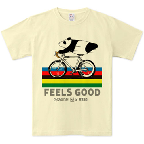 自転車Tシャツ GORIDE