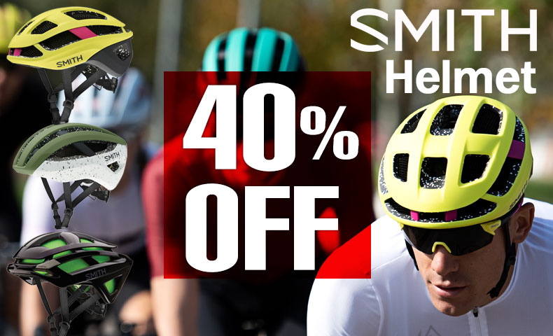 スミスヘルメット40%OFF