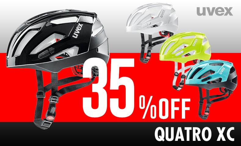 【35%OFF】ウベックス QUATRO ヘルメット